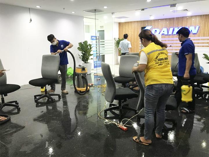 Giặt ghế văn phòng Đà Nẵng