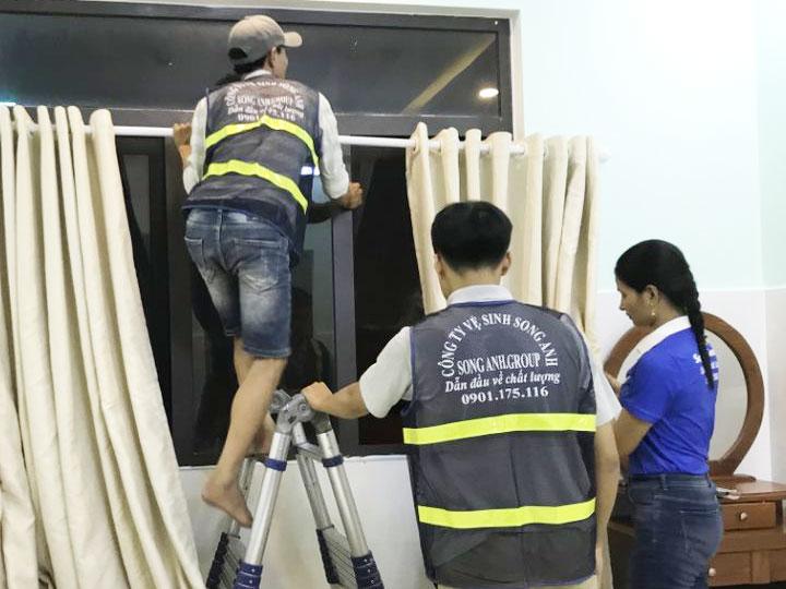 Giặt màn rèm Đà Nẵng