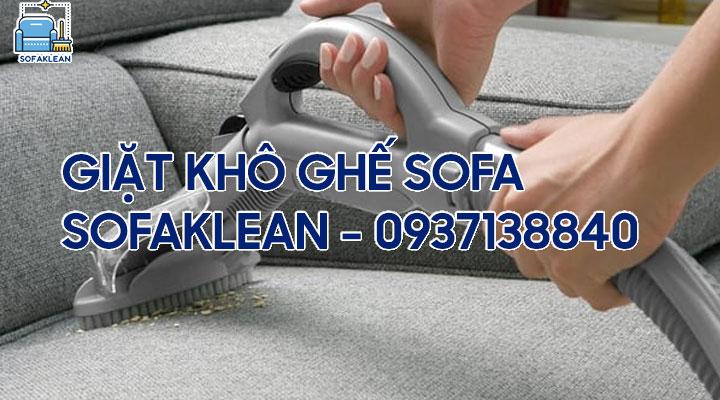Dịch vụ giặt khô ghế sofa