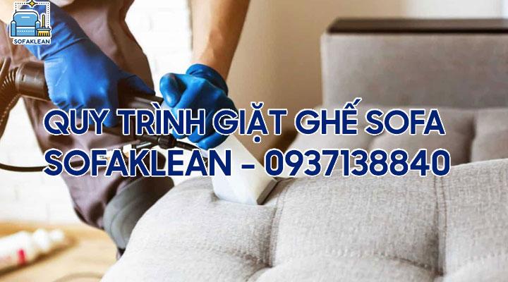 Quy trình giặt ghế sofa
